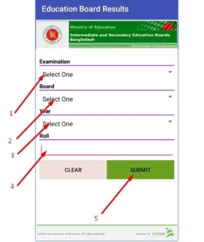 How to check HSC Exam Result by Android App